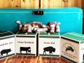 Our shipping boxes for grass fed and finished bison and beef